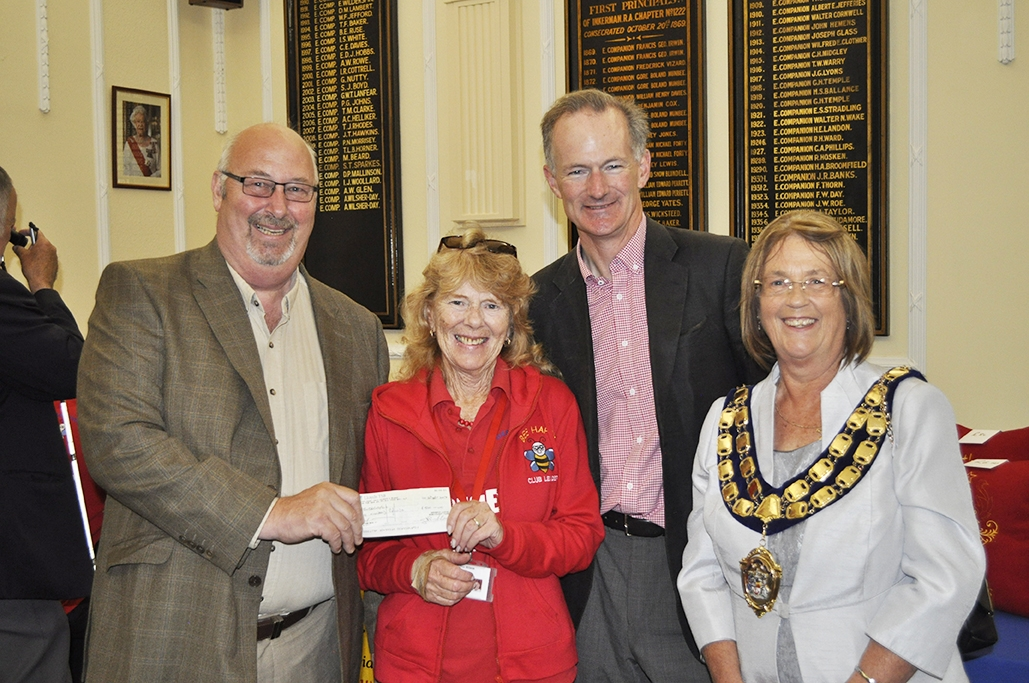 Charity Fayre success raises key funds to support local charities