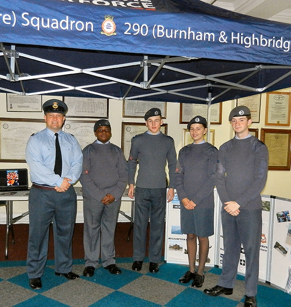 Raising Money For The Air Cadets